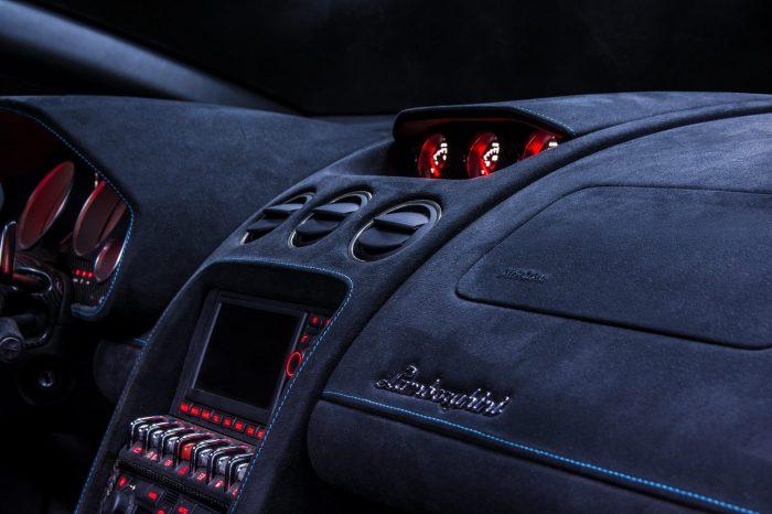 Lamborghini Car Interior Re-Trimming