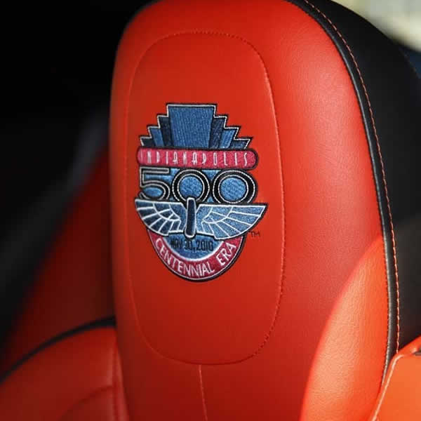 Car Seat Embroidery - www.m-trim.co.uk