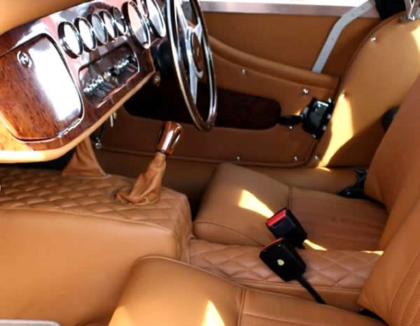 Vintage Morgan Car Retrim - M Trim