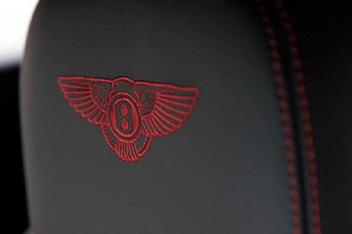 seat embroidery