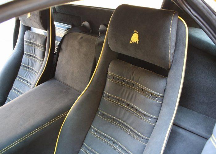 Lamborghini Car Seat Repair - M Trim